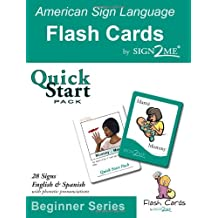 Sign2me Flash Cards: Quick Start Pack: Beginner Series