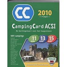 CampingCard ACSI / 2010 / druk 1: de kortingskaart voor het laagseizoen
