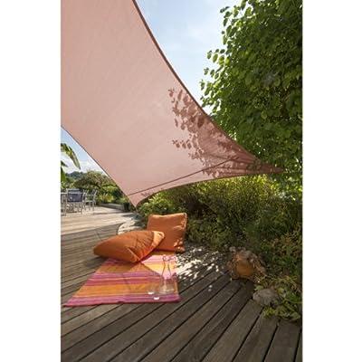 Windhager Sun Sail Adria Quadrat 3,6 m terracota von Windhager bei Du und dein Garten