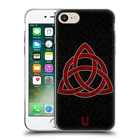 Head Case Designs Celtic Knot Symbolism Soft Gel Case for Apple iPhone 7