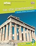 memo Wissen entdecken. Das alte Griechenland: Tempel, Götter, Philosophen. Das Buch mit Poster! - Anne Pearson