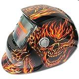 SODIAL 2018 nuevo Pro Solar soldador mascara de auto-oscurecimiento de la soldadura casco ardiente...