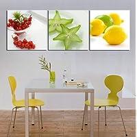 Amazones Cuadros Decorativos De Frutas Hogar Y Cocina - Cuadros-de-cocinas