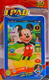 #8: Vibgyor Vibes™ MICKEY MOUSE 3D TABLET for Kids with Multiple Functions With Partly Touch Parts etc. Batteries Included