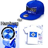 TV-24 Hamburg Armbanduhr + Hamburg CAPI + Hamburger HSV Magnet Pin