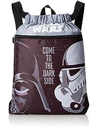 Artesanía Cerdá 2100000958 Star Wars Mochila Infantil, Color Negro