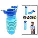 OFKPO Urinario de Emergencia para Adultos y Niños, 750 ml, Azul