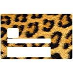 THELITTLESTICKER Leopard Electron Type Credit Card Sticker, Electron Type Credit Card Sticker, Zen, Young Card, Exclusive Post Bank