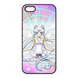 iPhone 5S Harte Rückseite Schutzhülle MANGA Series Cover Sailor Moon schwarz iPhone 5s Handy Fall