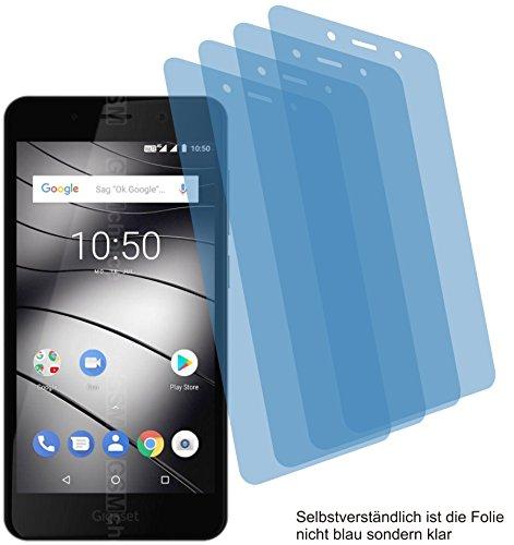4X Crystal Clear klar Schutzfolie für Gigaset GS180 Bildschirmschutzfolie Displayschutzfolie Schutzhülle Bildschirmschutz Bildschirmfolie Folie