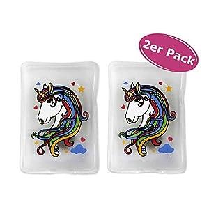 2er Pack Taschenwärmer Einhorn – Wichtelgeschenk – Handwärmer – Taschenheizkissen