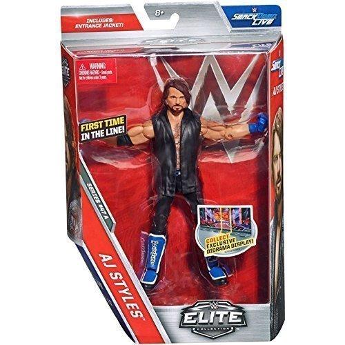 WWE Elite Serie 47 Actionfigur - AJ STILE 'Der Phänomenale Eins' Brandneu In Box