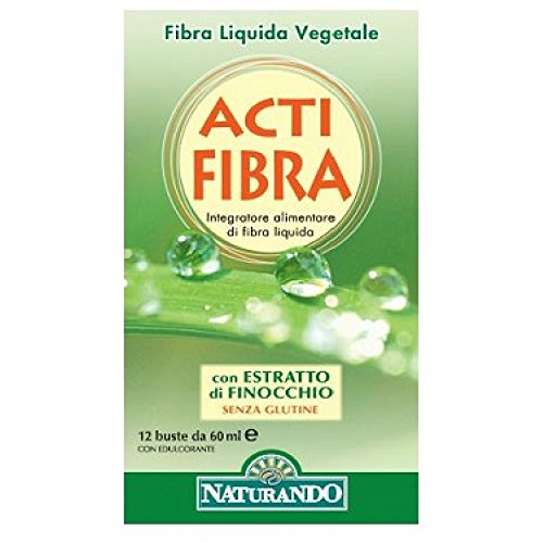 Integratore Alimentare Per Il Benessere Intestinale Stipsi, Diarrea Acti Fibra 12 Bustine 60 Ml