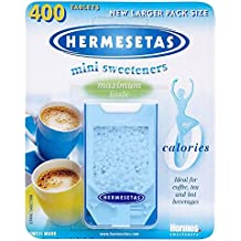 Hermesetas Los Mini Edulcorantes (400) (Paquete de 2)