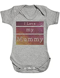 SR - I Love My Mummy Baby Bodysuit - Baby Body Suit - Baby Boy Bodysuit - Baby Girl Bodysuit