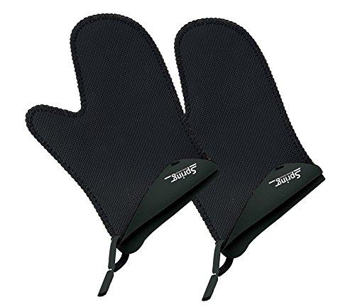 Spring 2094055102 Grips Handschuh kurz 1 Paar, Stoff, schwarz, 3 x 18 x 28,4 cm