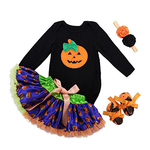 Kostüme 3 Halloween Uk 0 (Halloween Kostüme Kleid Tutu Sets hibote Mädchen Halloween Outfits)