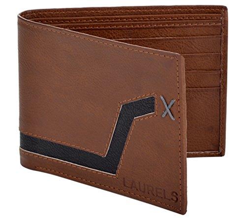 Laurels Jupites Tan Men's Wallet (JP-WL08)  available at amazon for Rs.149