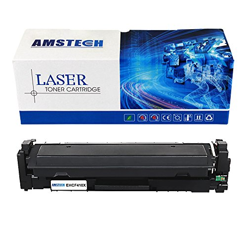 Preisvergleich Produktbild Amstech kompatibel toner CF410X(410X) XL Schwarz Tonerkartusche replacement fuer HP Color LaserJet Pro MFP M477fnw M477fdn M477fdw M452dw M452nw M452dn M377dw High Yield (6500 Seiten)