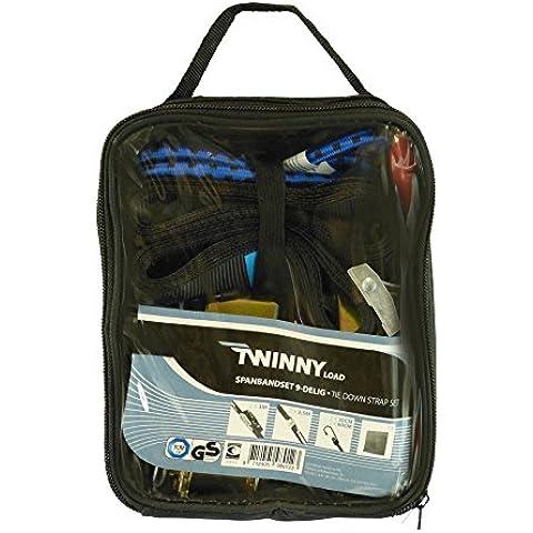 Twinny Load–Set 9pezzi Cinghia + sgancio rapido + bagagli di
