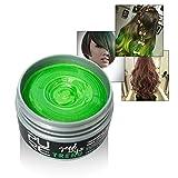 Romantic Bear Temporäre Haare Färben Wachs, Einweg-Styling Hair Cream (grün)