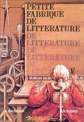 PETITE FABRIQUE DE LITTERATURE