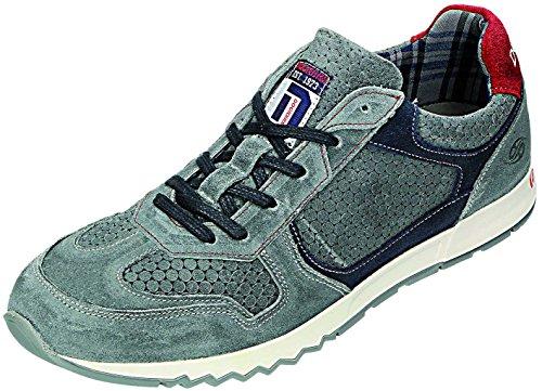 Dockers Herren Halbschuhe H. Chaussures basses Gris - Grau/Rot