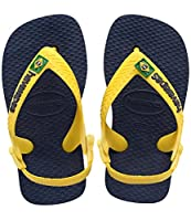 Brazil's original and authentic flip-flops for adults which were 'born' in 1998 to celebrate Brazil's part in the World Cup. They have now been adapted for toddlers with another strap around the heel to better secure the foot making it easier...