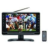 "Supersonic SC-499 9"" LCD 800 x 480pixels Black portable TV - portable TVs (22.9 cm (9""), LCD, 800 x 480 pixels, 16:9, Digital, MMC,SD)"