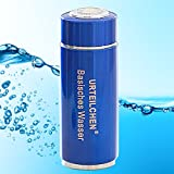 Urteilchen Basisches Wasser - zur Herstellung von basischem Wasser, basisches Wasser, Lauge, Ionisator, Base, pH, Basenbehälter