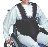 Sitzhose mit Trägern für Rollstühle blau Erwachsene Rollstuhl Hose