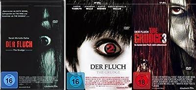 The Grudge - Der Fluch 1-3 komplett im Set - Deutsche Originalware [3 DVDs]
