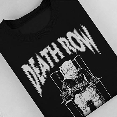 Aosepangpi Baby Crawler,Baby T-Shirt Death Row Records Black Long Sleeve Jumpsuits.