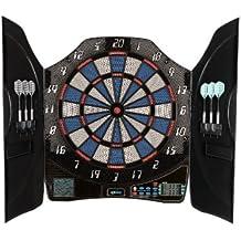 Solex Dartboard Electronic Dart bull Legend 8 Player KabineTT, mehrfarbig, 50 x 46 x 5.5 cm, 43325