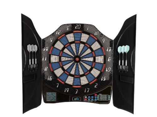 Solex Dartboard Electronic Dart Bull Legend 8 Player KabineTT, Mehrfarbig, 50 x 46 x 5.5 cm, 43325 -
