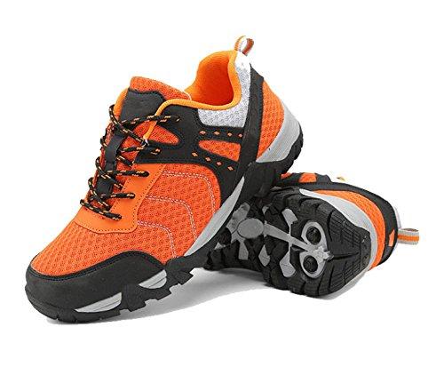 Les Amateurs De Plein Air Chaussures De Randonnée Hommes Glissent Des Chaussures De Randonnée Multicolore Multi-taille Orange