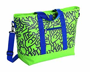 Mobicool Les Courses Pop Art Sac Isotherme Keith Haring design, 24L