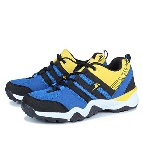 Autunno scarpe sportive scarpe da corsa uomo scarpe casual scarpe scarpe respirabili modelli maschili blue yellow