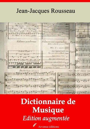 Dictionnaire de musique (Nouvelle édition augmentée) par Jean-Jacques Rousseau