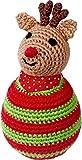 Pupazzetto Renna di Natale in stoffa, musicale