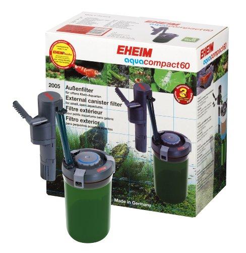 Eheim 2005020 Inlinefilter aquacompact 60 mit Filtermasse EHEIM SUBSTRATpro