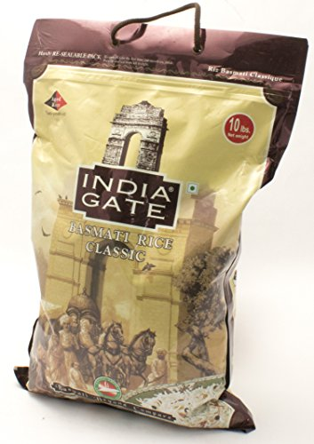 India Gate (India Gate - White Basmati Rice - Classic, 10 Pound)