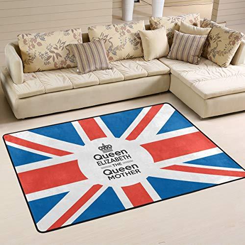 XiangHeFu Personalisierte Teppiche Queen Elizabeth Mutter 3