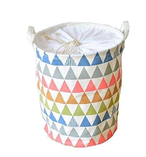 dushow resistente al agua plegable cesta para la ropa sucia la ropa...