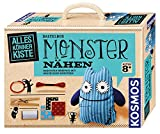 KOSMOS AllesKönnerKiste Monster nähen für Anfänger - DIY-Bastelset für Kinder ab 8 Jahren - das ideale Geschenk für den Kindergeburtstag