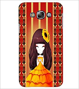 PrintDhaba Cute Girl D-2683 Back Case Cover for SAMSUNG GALAXY GRAND 3 (Multi-Coloured)
