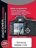 digiCOVER - Pellicola protettiva Premium per display LCD, antigraffio, per fotocamera digitale Samsung WB500/WB510