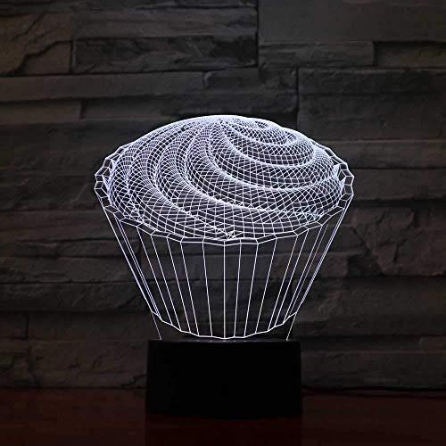 Veilleuse 3D Illusion 7 couleur ...
