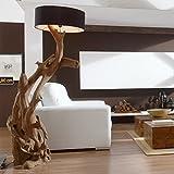 Standlampe Teak Wurzelholz RIAZ XL 200cm