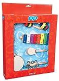 Performance Percussion PK07 Ensemble d\'Instruments de percussion avec glockenspiel Multicolore